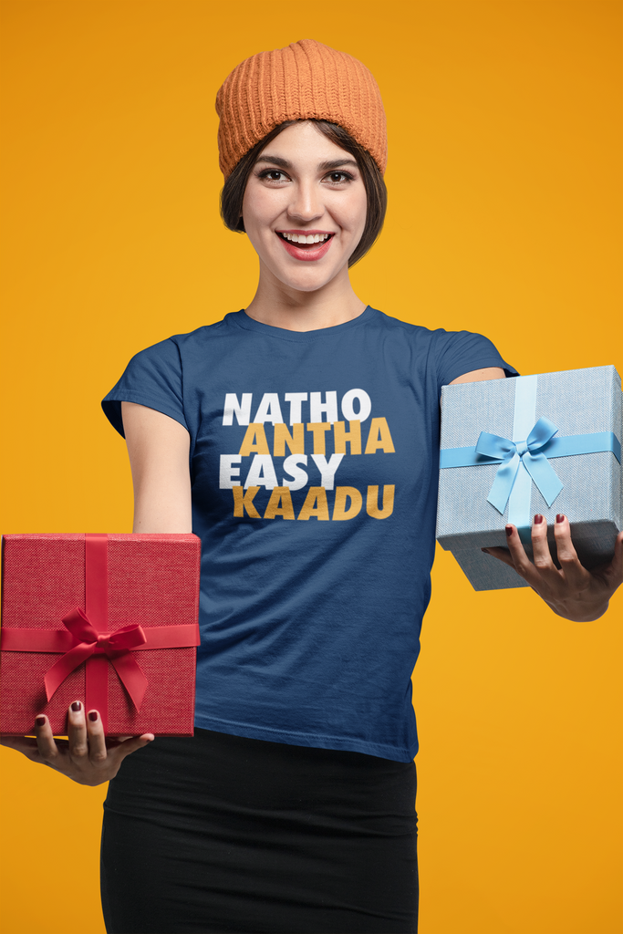 Natho Antha Easy Kadu - Women's Tee