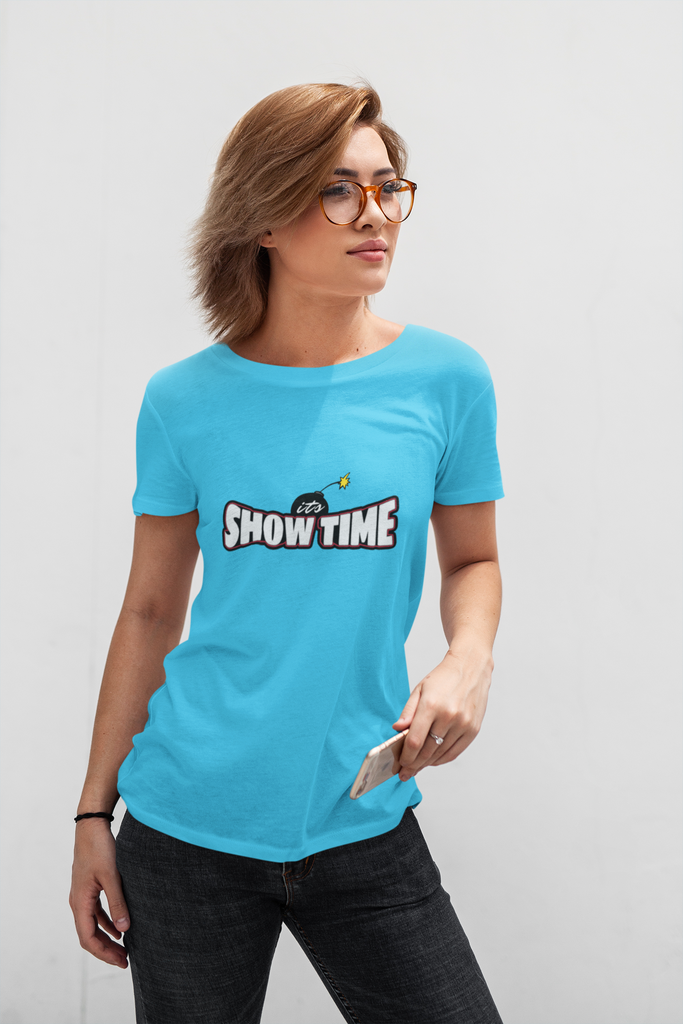 Its show time women's tee
