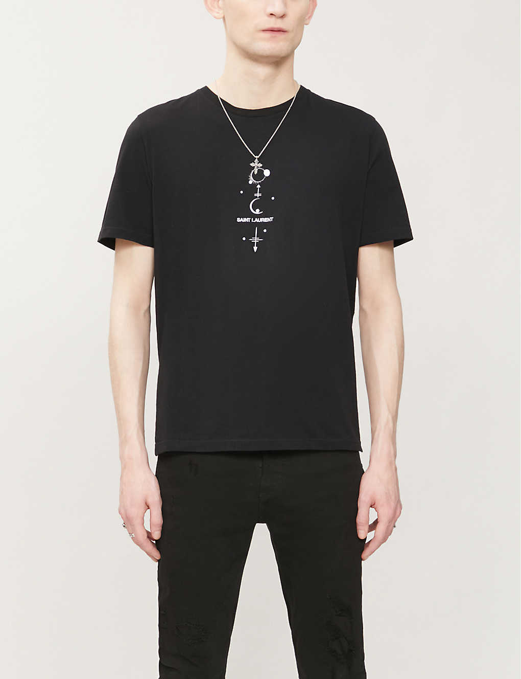 "Saint Laurent ""MYSTIQUE SAINT LAURENT"" T恤"