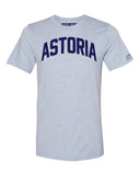 Sky Blue Astoria T-shirt with Blue Letters