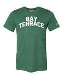 Green Bay Terrace T-shirt with White Reflective Letters