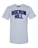 Sky Blue Boerum Hill T-shirt with Blue Letters