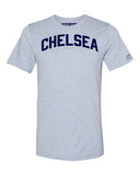 Sky Blue Chelsea T-shirt with Blue Letters