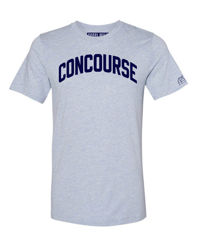 Sky Blue Concourse Bronx T-Shirt with Blue Letters