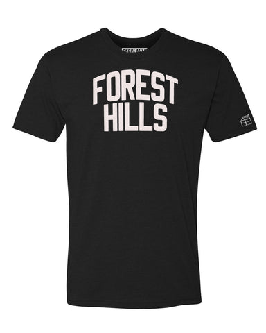 Black Forest Hills T-shirt with White Reflective Letters