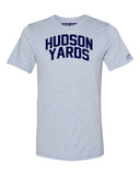 Sky Blue Hudson Yards  T-shirt with Blue Letters