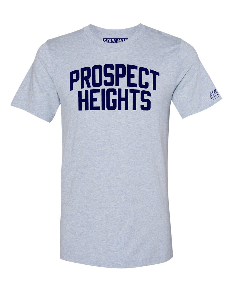 Sky Blue Prospect Heights T-shirt with Blue Letters