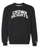 Black Crown Heights Sweatshirt w/ Reflective Letters