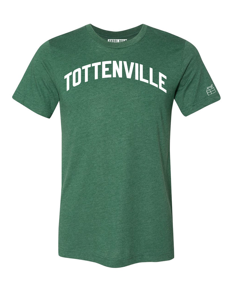 Green Tottenville T-shirt with White Reflective