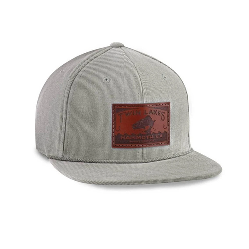 custom cap brown leather patch on corduroy snapback by dekni creations bulk caps wholesale