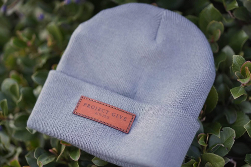 leather patch winter caps