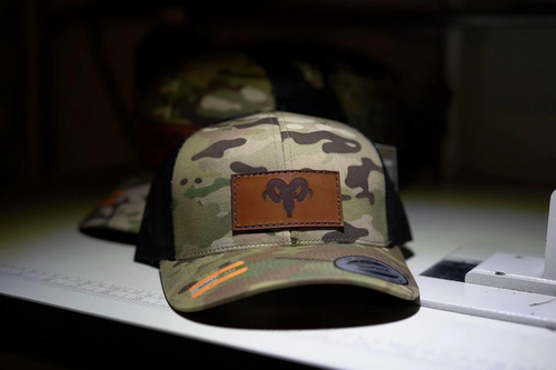 Custom Multicam hat with patch