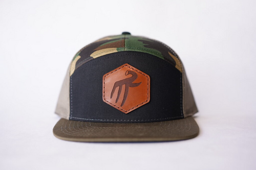 custom 7 panel with patch custom