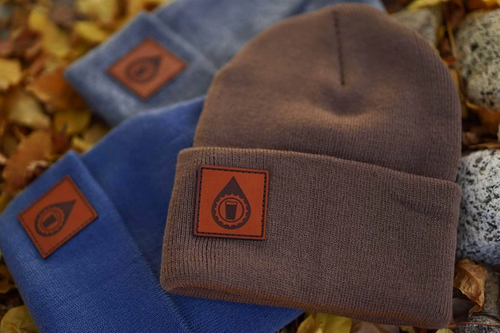 custom patch beanies