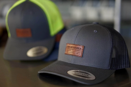custom patch hats
