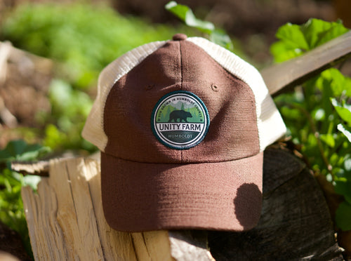 hemp hat with custom logo