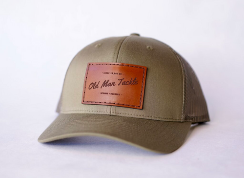 custom richardson trucker with patch