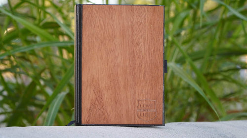Engraved Wooden Journals