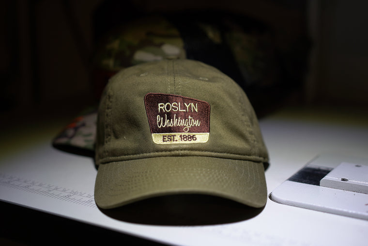 dad hats with custom embroidery ec7000 eco friendly