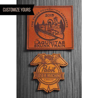 dekni creations custom engraved leather patches for hats