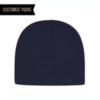 beanie made in usa custom with logo patch