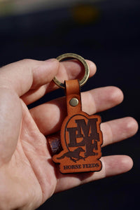 custom leather key chains