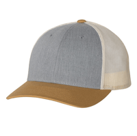 Custom Richardson 115 low profile cap with leather patch