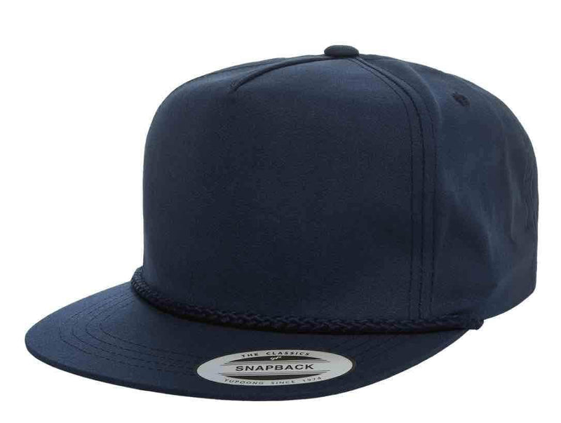 08133f9cfae7f navy Custom Yupoong Classic Poplin Golf cap for embroidery and leather  etched patch by dekni