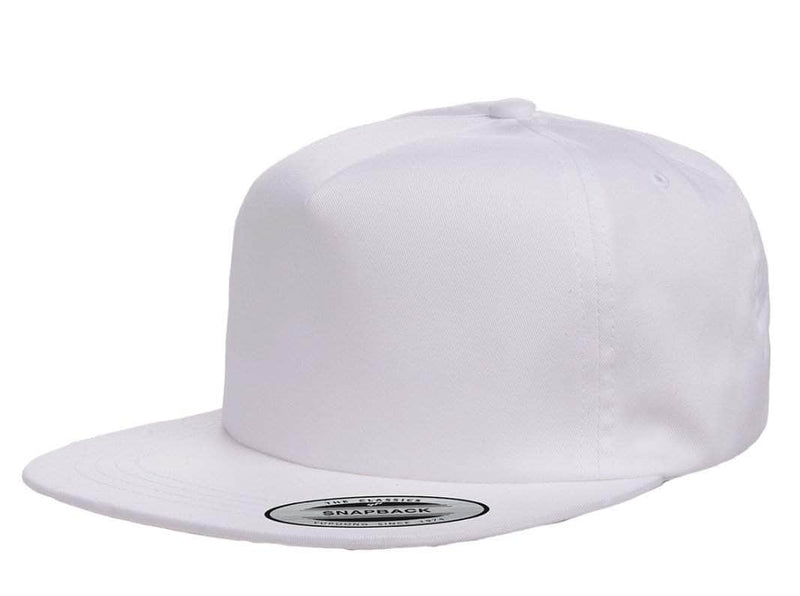 41d8fb7bb Custom Yupoong Unstructured 5-Panel Snapback Hat