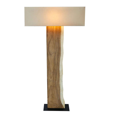 Lampe Treibholz Stehlampe