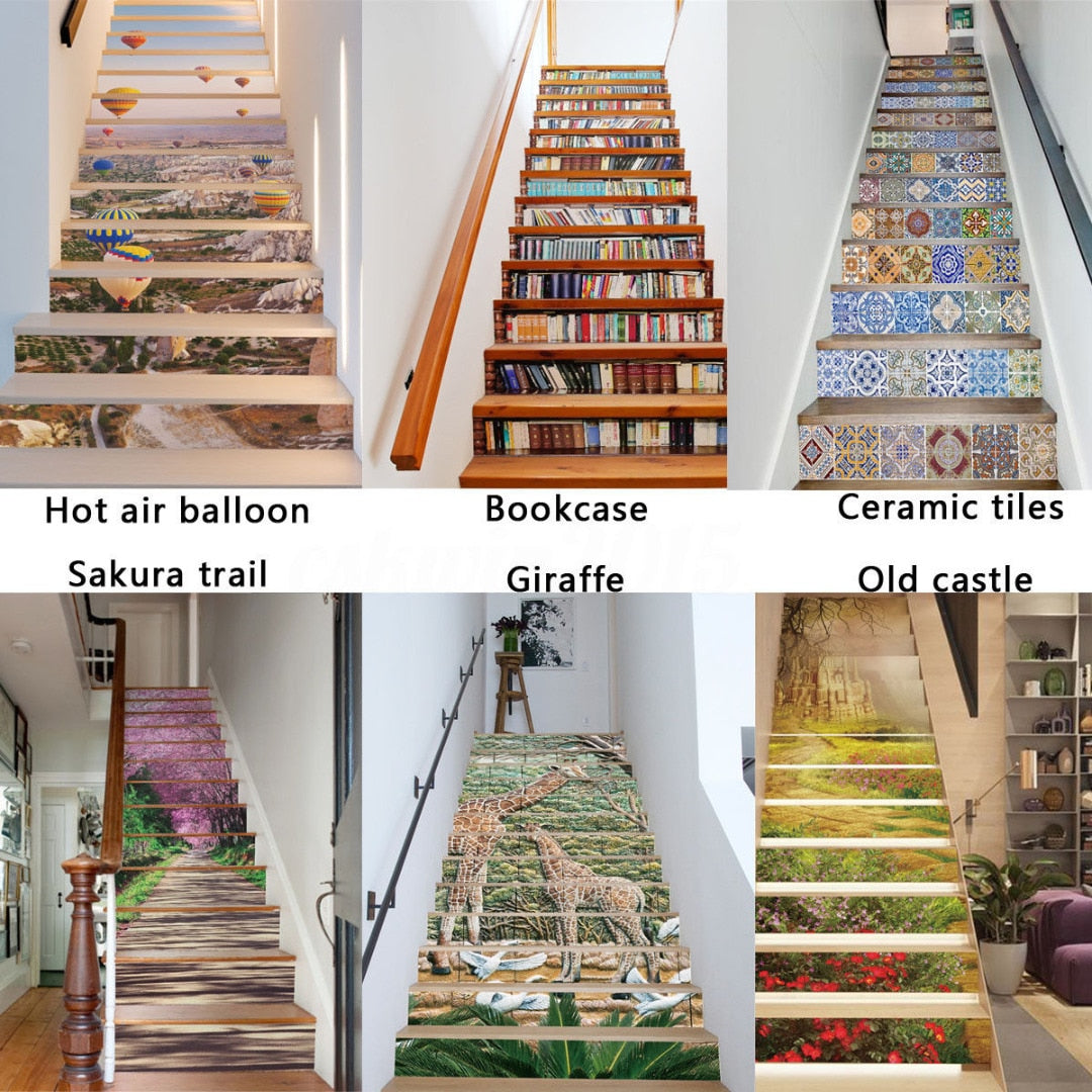 Stairs 3D Stickers