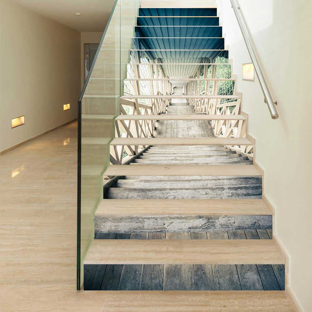 Creative stairs 3D Stickers