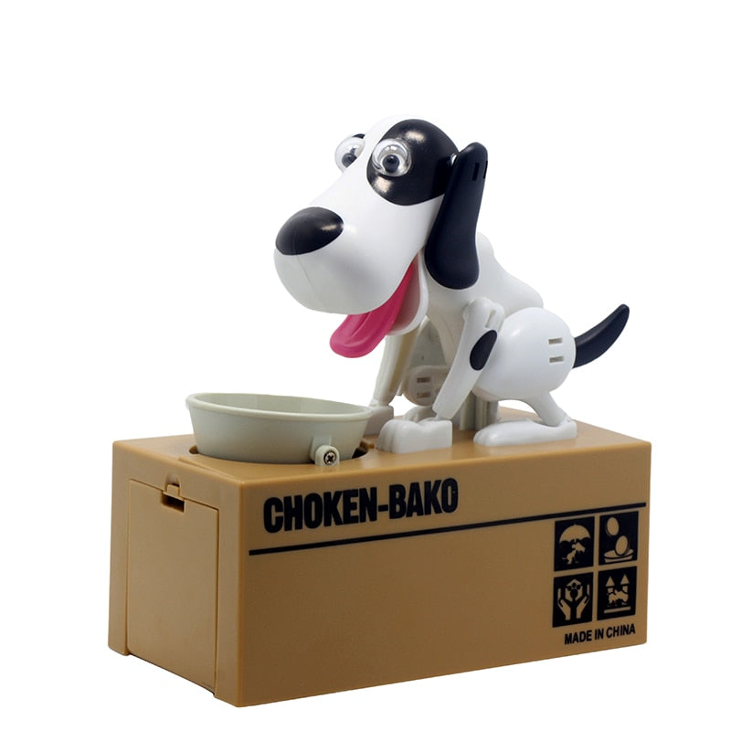 Doggy Coin Bank Canine Money Box