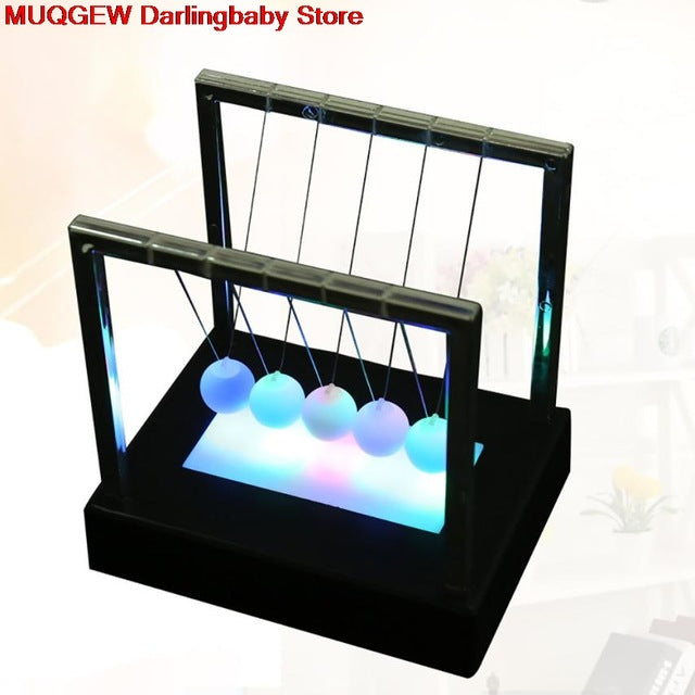 Newtons Cradle LED Light Up - Antistress Toy