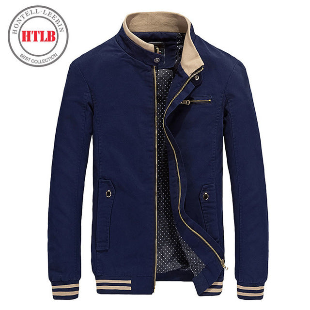 New Spring Autumn Men Casual Jacket
