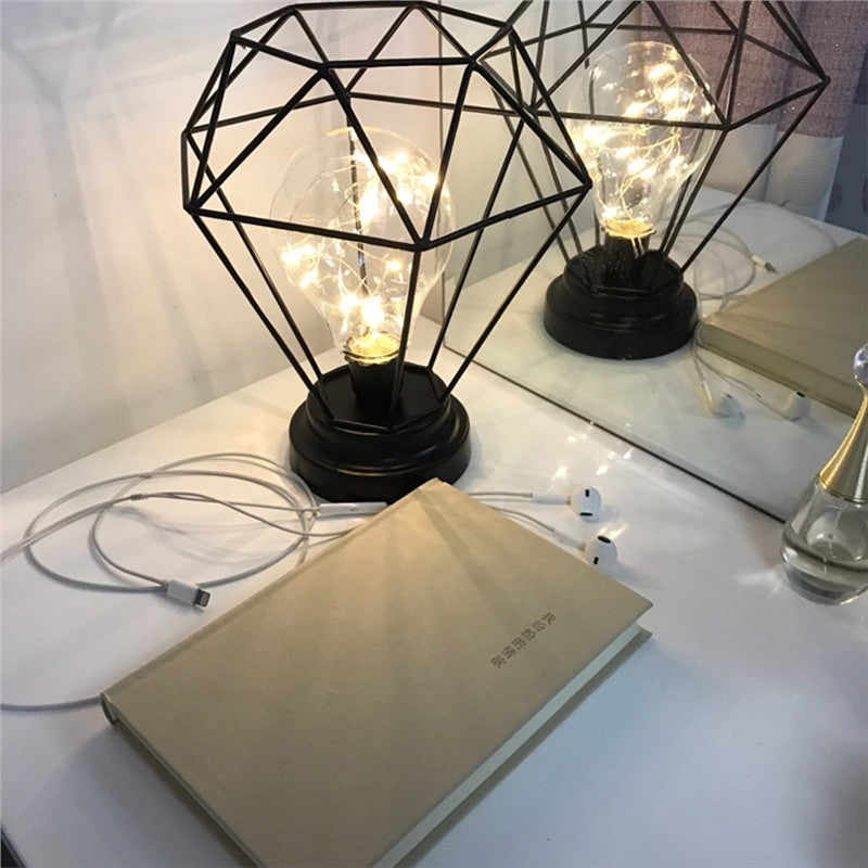 Metal Terrarium LED Lamp