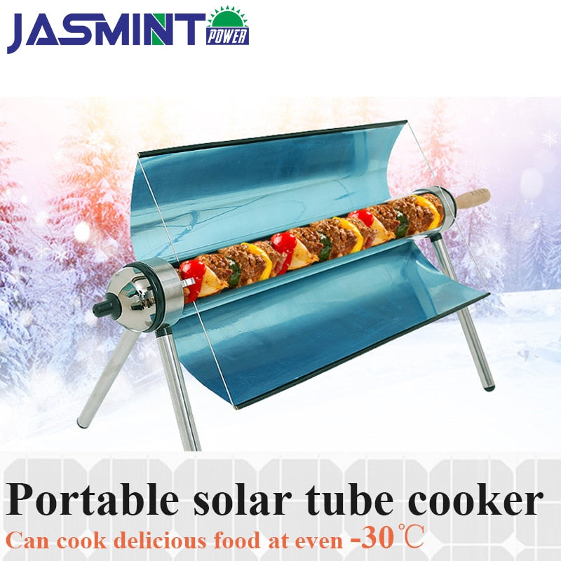 Portable solar cooker for outdoor BBQ ,Camping Emergency Tool solar oven