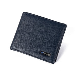 Men Genuine Leather High Quality Anti Lost Intelligent Bluetooth Smart Wallet