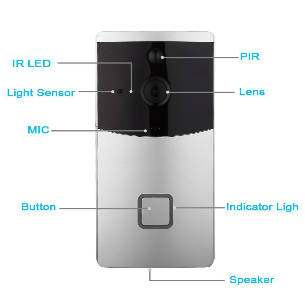Smart WiFi Wireless Video Doorbell
