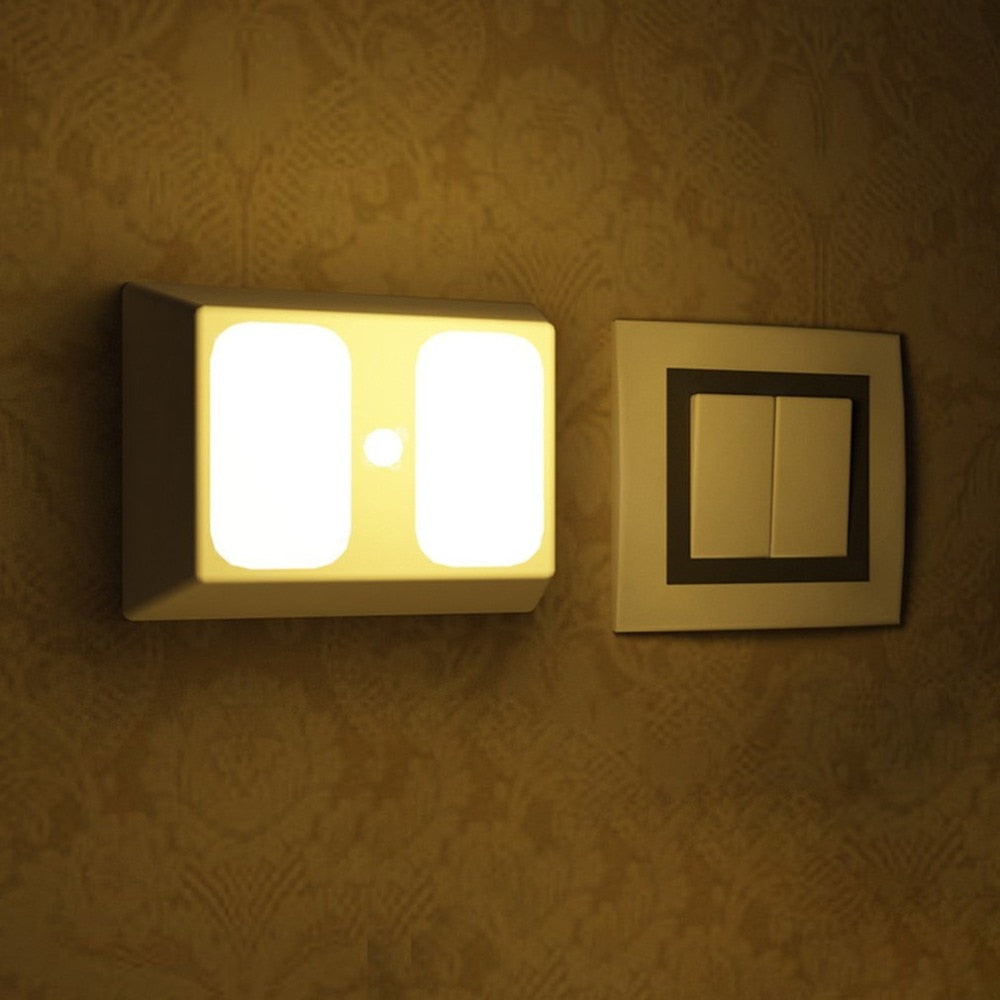 Voice & Light Sensor Control Light Motion Activated Cabinet Light