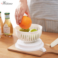 Creative Magic Salad Cutter Bowl