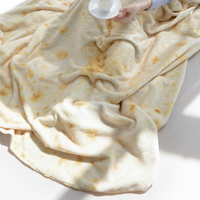Floral Printed Plush Sherpa Throw Blanket