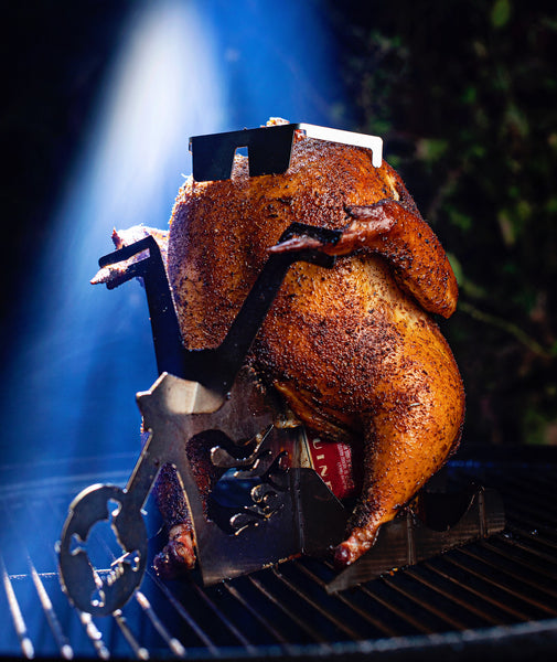 How to do a beer can chicken!