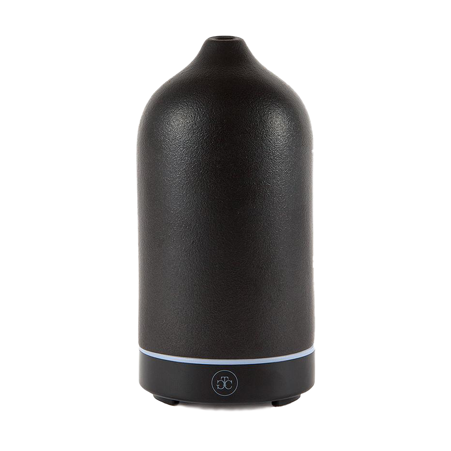 Ceramic Essential Oil Diffuser - Black
