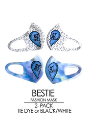 BESTIES 2-Pack Fashion Mask