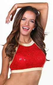 Brooke Top Sequin