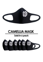 Camellia 6-Pack Fashion Mask