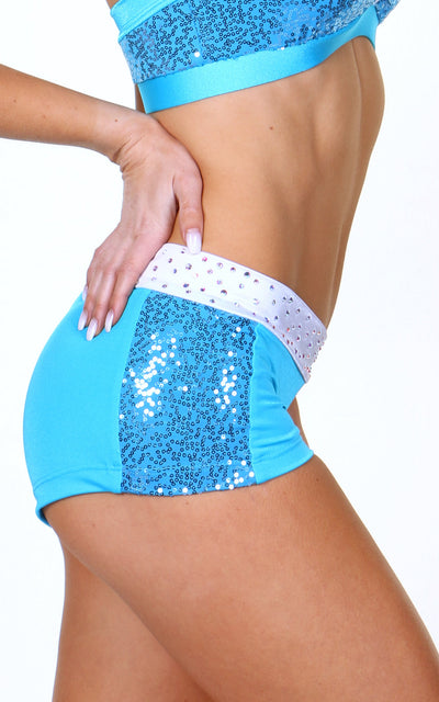 Carla Shorts Sequin