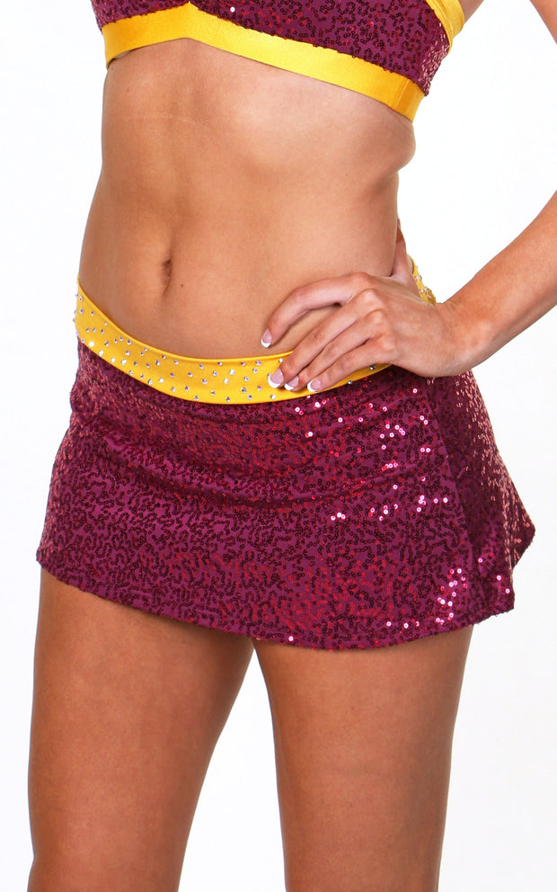 Dallas Skirt Sequin