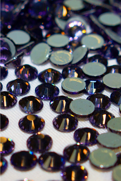 Deep Purple Rhinestones 20SS
